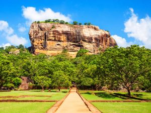 Löwenfelsen in Sigiriya