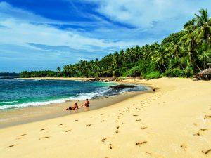 Entspannen am Strand von Tangalle