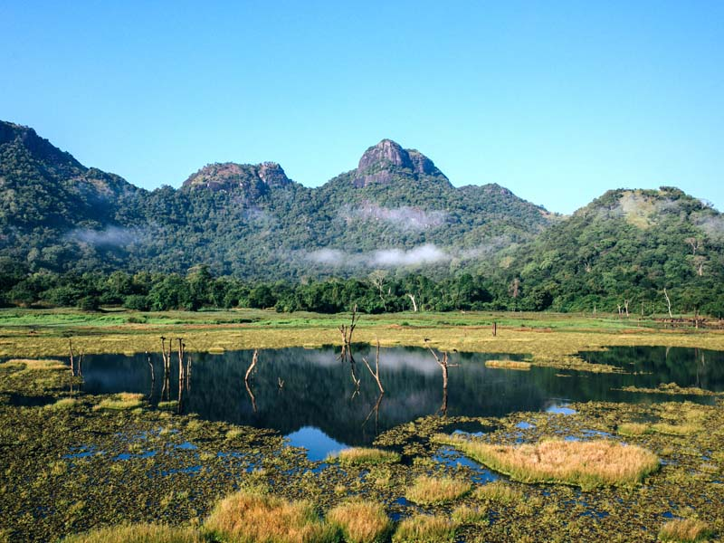 Bootsafari im Gal Oya Nationalpark