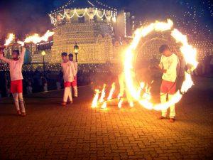 Feuertanz in Kandy