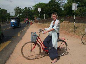 Fahrradtour mit der Familie