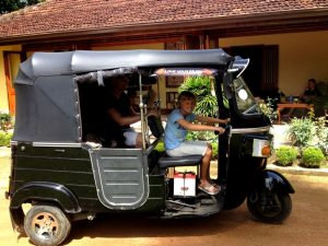Tuk Tuk auf Sri Lanka