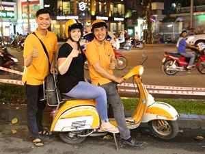 Saigon Ausflüge: Vespa Tour