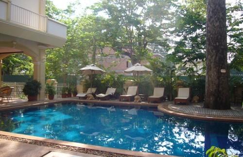 Entspannung in Siem Reap
