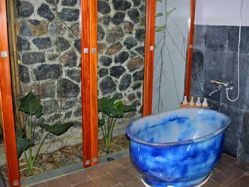 Badezimmer in Tam Coc