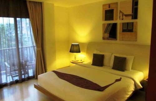 Komfortables Zimmer in Bangkok