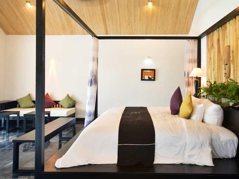 gemütlicher Bungalow im Resort zwischen Hue und Danang