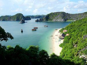 Ein Blick auf Ihr Resort in der Lan Ha Bucht