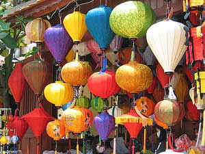 Lampions in Hoi An