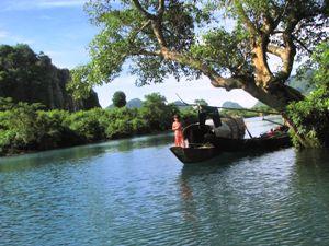 Mit dem Boot durch Phong Na Ke Bang