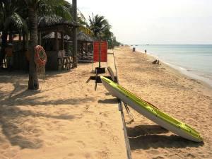 goldener Sandstrand auf Phu Quoc