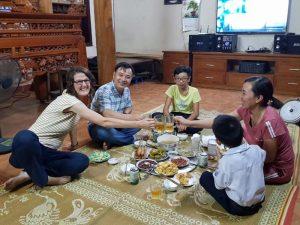 Zu Gast bei Einheimischen während Vietnam Rundreise