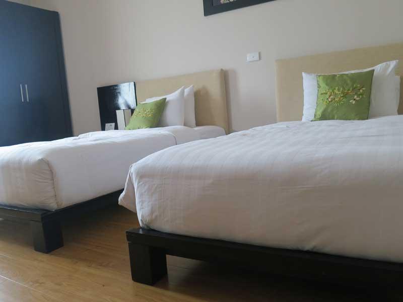 Großzügige Zimmer in Hanoi Altstadt