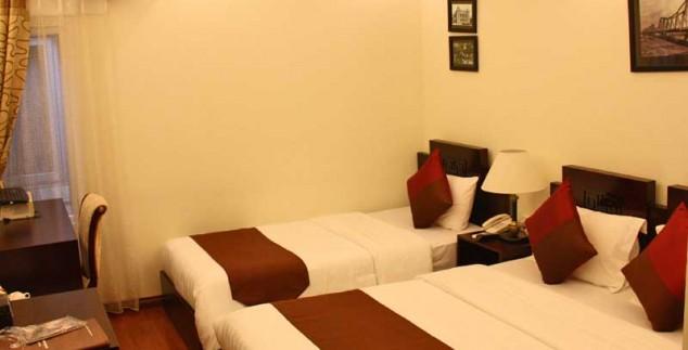 Einfaches Zimmer in Hanois Altstadt