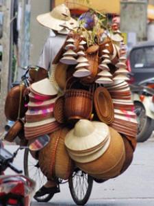 Vietnamesische Transportkünstler