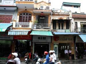 Hanoi Straßenszene