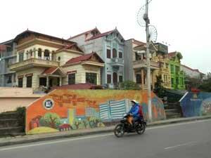 Ein typisches Verkehrsmittel in Vietnam