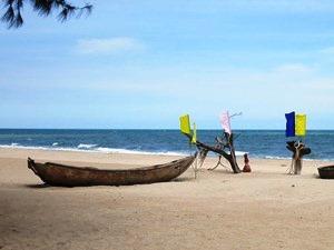 Strand beim Ho Tram Hotel