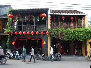 Beschauliche Häuser in Hoi Ans Altstadt