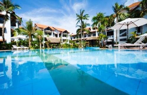 Strandhotel mit Pool in Hoi An