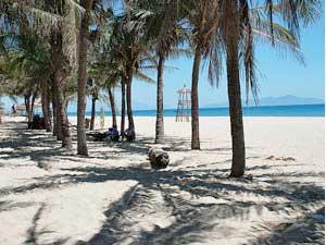 Chillen am Strand von Hoi An