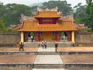 Grabstätte in der Kaiserstadt Hue Vietnam