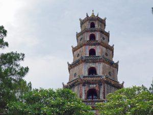 Die Thien Mu Pagode in Hue Vietnam