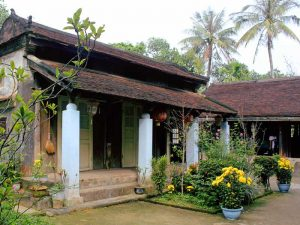 Gartenhaus in der Kaiserstadt Hue Vietnam