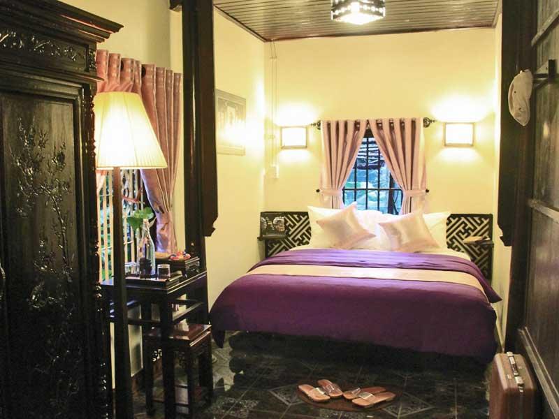 Gemütliches Zimmer in der Kaiserstadt Hue Vietnam
