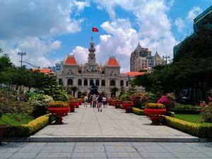 Saigon Ausflüge: Kolonialgebäude