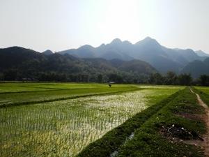 Die Gegend um Mai Chau erkunden