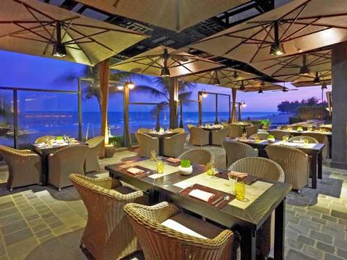 Restaurant mit Ausblick