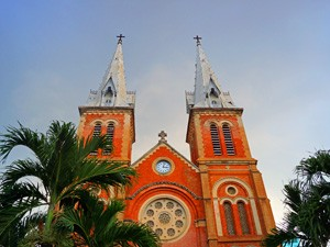 Notre Dame Kirche in Saigon