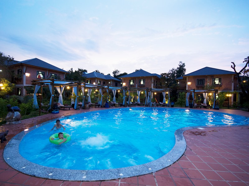 Resort auf Phu Quoc - Pool