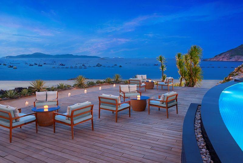 Terrasse im Abendlicht Quy Nhon