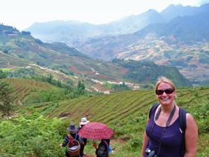Sapa Trekking durch Reisterrassen