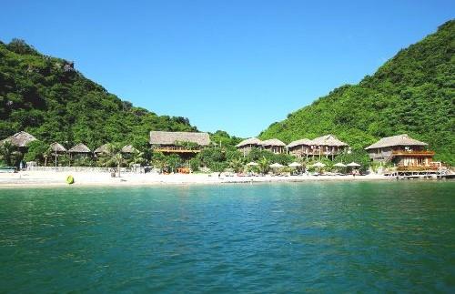 Das charmante Insel Resort