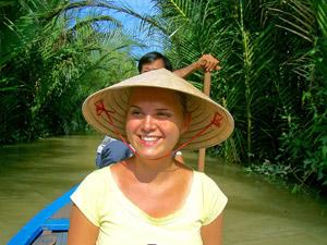 Von Vietnam nach Kambodscha: Bootstour auf dem Mekong
