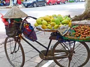 Vietnam mit Kindern: Snacks kaufen