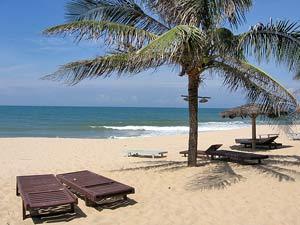 Entspannung am Strand von Vietnam
