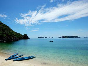 Strand in der Lan Ha Bucht