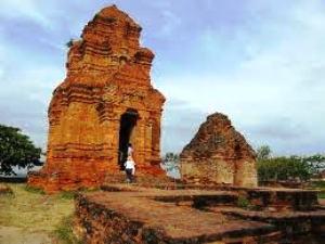 Cham Tempel in Vietnam