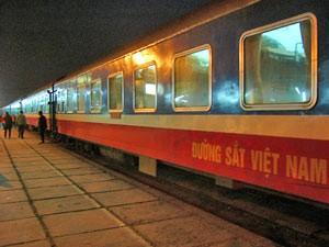 Nachtzugfahrt von Hanoi nach Dong Hoi