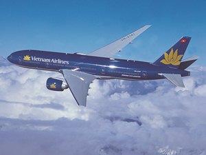 Flugzeug der Vietnam Airlines