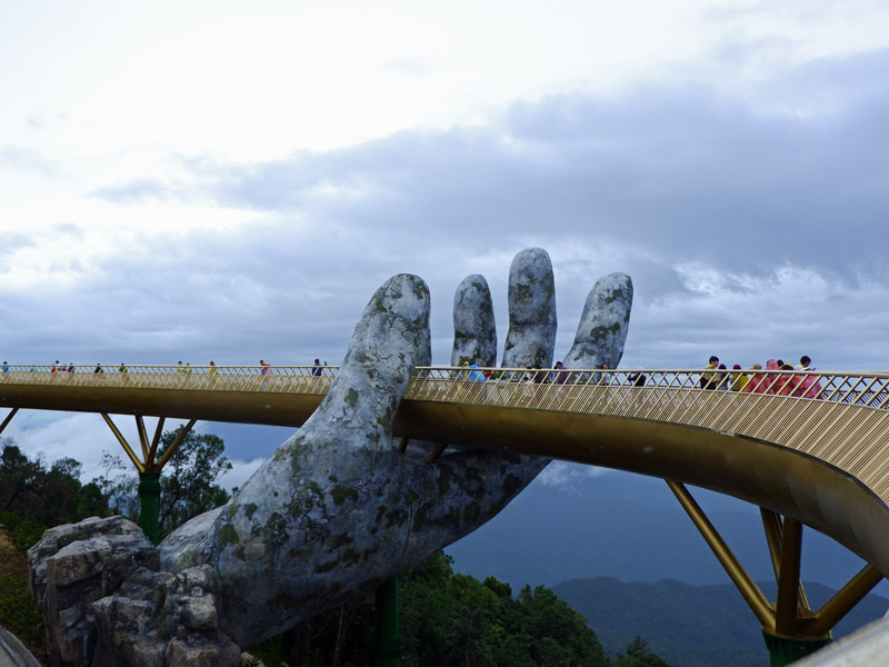 Golden Bridge Vietnam im Ba Na Hill Resort