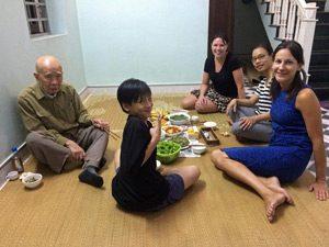 Hanoi Kochkurs und gemeinsames Abendessen