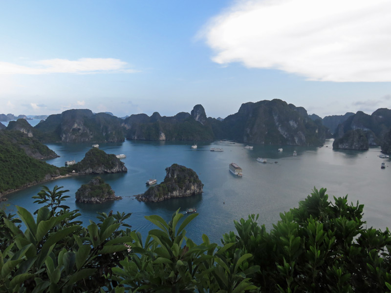 Indochina Reisen Vietnam Halong Bucht
