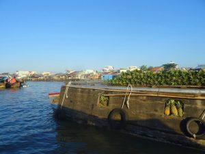 Vom Mekong Delta nach Phu Quoc: Schwimmender Markt auf dem Mekong