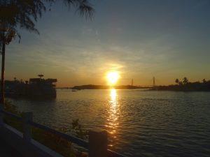 Vom Mekong Delta nach Phu Quoc: Sonnenaufgang