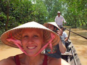 Bootsfahrt Mekongdelta Can Tho Vietnam